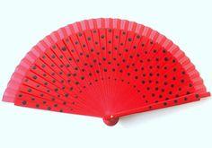 HandfächerhandfanAbanicoFächer in rot mit von pinkmagnolia2303