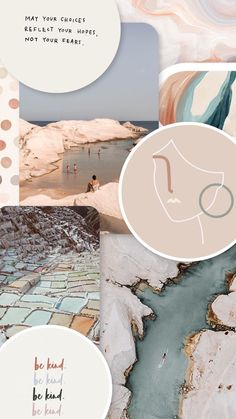Beige and blue moodboard Reflection, Blues, Give It To Me, Beige, Celestial, Wallpaper, Outdoor, Taupe, Wallpaper Desktop