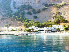 Agia Roumeli (einde hike), Kreta, Griekenland - bewri