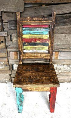 Zarape Shutter Dining Chair