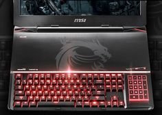 MSI GT80 Titan Gaming Laptop Is Worlds First With Mechanical Keyboard - The MSI GT80 Titan is the very first laptop to be equipped with a mechanical keyboard and will come equipped with Cherry MX Brown keys that are perfect for gaming thanks to their design that provides light with quick actuation when pressed. | Geeky Gadgets