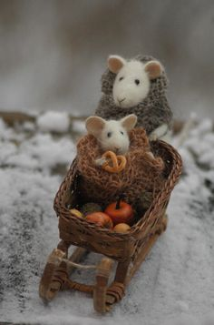 Stuffed animals by Natasha Fadeeva. copyright
