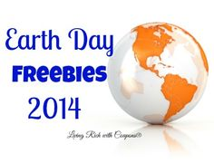 Earth Day Freebies 2014 - Living Rich with Coupons - Free Reusable Bags, Free Coffee, Free Organic Products and much more this Earth Day! Earth Day Tips, Reusable Bags, Ideas, Thoughts