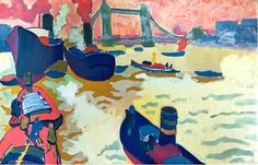 Andre Derain - The Thames