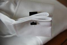Black squared cufflinks
