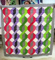 Jean's Quilting Page: I'm in a magazine! well, my QUILT is.... Such a fun easy quilt.