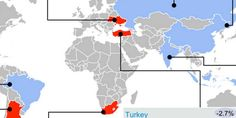 The 9 Big Emerging Markets Stories In One Map
