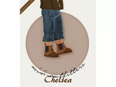 Chelsea Boots - Toddler Version - 3T4 - The Sims 4 Download - SimsDom