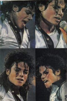 Michael Jackson Bad Tour Collage