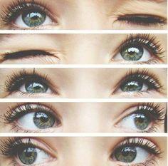 She has really pretty eyes