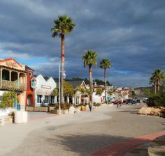 Downtown Avila Beach, CA by www.centralcoastpictures.com
