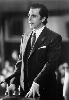 """Al Pacino in """"Scent of a Woman"""""""