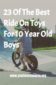 Best Ride On Toys - a great selection of ride on toys for older kids. These will make great gifts for kids from 8 - 10 years old. The perfect gift for birthday or Christmas. They will have loads of fun with these kids ride on toys. From hover boards, to power riders, and many more! #rideontoyskids #kidsrideontoys #rideontoys Unique Christmas Gifts, Christmas Toys, Unique Gifts For Her, Gifts For Kids, Kids Ride On Toys, 10 Year Old Boy, Camping Gifts, Old Boys, 10 Years