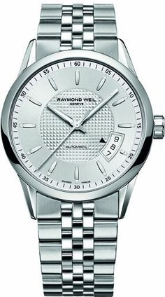 Men's Wrist Watches - Raymond Weil Freelancer Mens Automatic Watch 2770ST65021 * Want additional info? Click on the image.