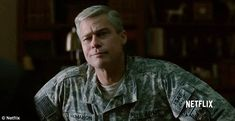 'This is a war you will never win': Brad Pitt plays 'rock star' General Glen McMahon who is loosely based on army veteran, General Stanley McChrystalwho slights skeptics in War Machine