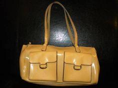 $9.99 Love this one!  Mondani Faux Leather Purse   Buff/Camel Color