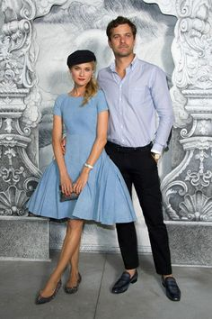 Diane Kruger & Joshua Jackson at Chanel Front Row. Could they BE any more perfect?