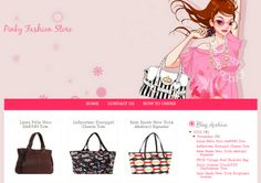 his boutique template suitable for bag online store, fashion online store, beauty online store