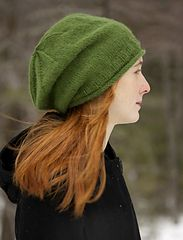 Ravelry: Fresco Simply Slouchy Hat pattern by Susan Mills.  Yarn weight Sport / 5 ply (12 wpi)  US 4 - 3.5 mm 165 yds.