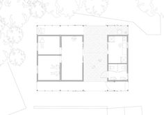 Low Cost House,First Floor Plan