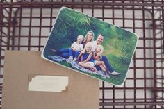 """Image of Small or Medium  """"photoblock"""" with your picture"""