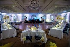 sweetheart table ideas, modern reception chairs, mixed seating reception, winter wedding decor  from DC winter wedding at the Fairmont hotel by Greg Gibson Photography