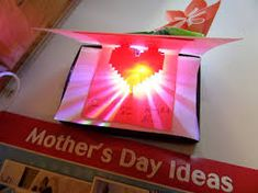 Image Result For Kids Light Up Birthday Cards Pop Origami Paper