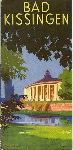 Bad Kissingen, circa 1931. Front Cover