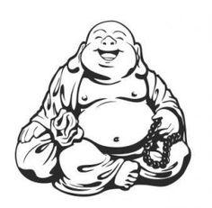 Muursticker Buddha beeld | MUURSTICKERS COLLECTIE | MUURSTICKERS /101WOONSTICKERS