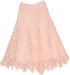 Crochet Skirt Pattern | bags sequin skirts short skirts silk skirts dresses tunic shirt scarf ...
