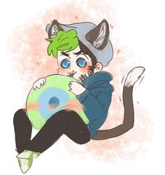 Cute Jacksepticeye and Sam