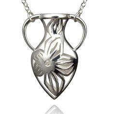 Silver Vase Pendant    Sterling silver vase pendant       $190
