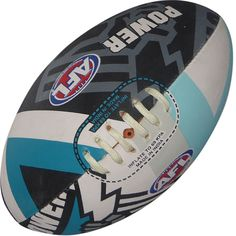 Port Adelaide Power AFL Game Ball Burley S5