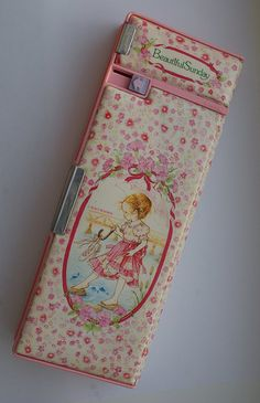 Beautiful Sunday Pencil Case - I had one like this but in blue - loved it - still have it somewhere....