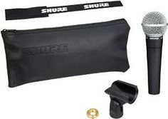 Shure Cardioid Vocal Microphone without Cable -(Rs Best Usb Microphone, Rapper, Cute Handbags, Musical Instruments, Videos, Musicals, Cable, Audio, Black