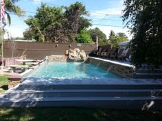 Islander Inground Pools Starting At Just 13 995 Prefabricated Hand Crafted Vinyl Wred Embly