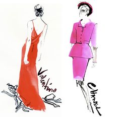 david downton chanel valentino paris couture week