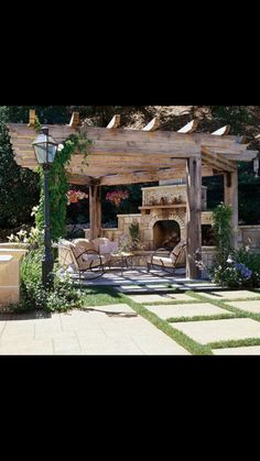 These free pergola plans will help you build that much needed structure in your backyard to give you shade, cover your hot tub, or simply define an outdoor space into something special. Building a pergola can be a simple to… Continue Reading → Outdoor Rooms, Outdoor Gardens, Outdoor Living, Outdoor Decor, Outdoor Kitchens, Backyard Pergola, Backyard Landscaping, Rustic Pergola, Outdoor Pergola