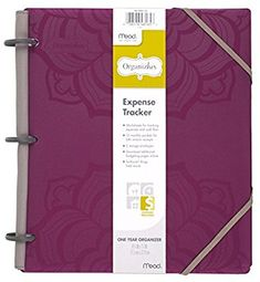 """Amazon.com : Mead Organizher Expense Tracker, Budget Planner, Bill Organizer, 8-1/2"""" x 11"""", Poly, Purple (64047) : Personal Organizers : Office Products"""