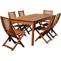 Patio Dining Chairs, Outdoor Dining Set, Outdoor Tables, Dining Table, Outdoor Decor, 3 Piece Bistro Set, 3 Piece Dining Set, Wood Patio Furniture, Solid Wood Table Tops