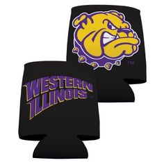 Western Illinois University Koozie Set of 6 - Black Design 2 by VictoryStore, http://www.amazon.com/dp/B00DNGETIC/ref=cm_sw_r_pi_dp_aVF7rb0DW41ZG