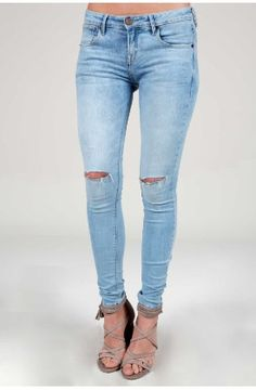 Denim Jeans, jeggings y Vaqueros para Mujer Denim Jeans, Skinny Jeans, Jeggings, Pants, Fashion, Shopping, Openness, Women, Clothing