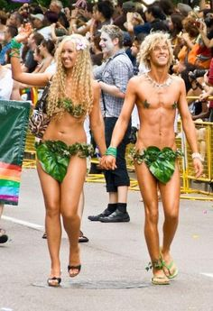 Funny Halloween Costumes For Couples Ideas 2012 Trends adam Eve