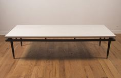 White Formica Coffee Table