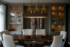 diningroom wall unit cabinet designs - Google Search