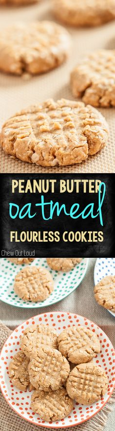 Gluten-free, Dairy-free, and loaded with YUM. These are oh-so-satisfying! #peanutbutter #cookies #dessert