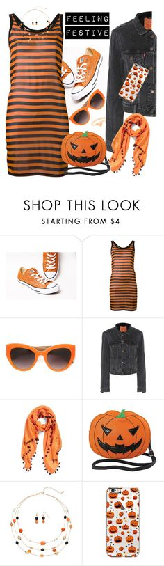 """🎃 All Halloween-ed Up 🎃"" by blondemommy ❤ liked on Polyvore featuring Givenchy, Dolce&Gabbana, Vetements, La Fiorentina and Sleepyville Critters"