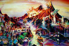 Mysterious Island, Tokyo DisneySea (early concept)