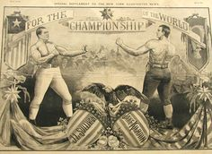 John Lawrence Sullivan (October 15, 1858 – February 2, 1918), also known as the Boston Strong Boy, was recognized as the first Heavyweight Champion of gloved boxing (Whites only) from February 7, 1882, to 1892, and is generally recognized as the last heavyweight champion of bare-knuckle boxing under the London Prize Ring Rules. He was the first American athlete to earn over one million dollars