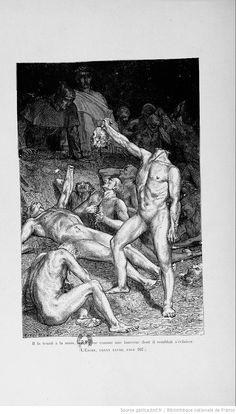 La divine comédie (Nouvelle édition) / Dante Alighieri ; traduction de Artaud de Montor ; illustrations de Yan Dargent   http://gallica.bnf.fr/ark:/12148/bpt6k5449871p/f147.highres